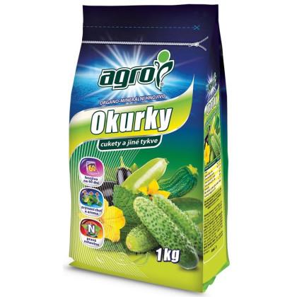 Agro minerálne hnojivo na uhorky - 1 kg
