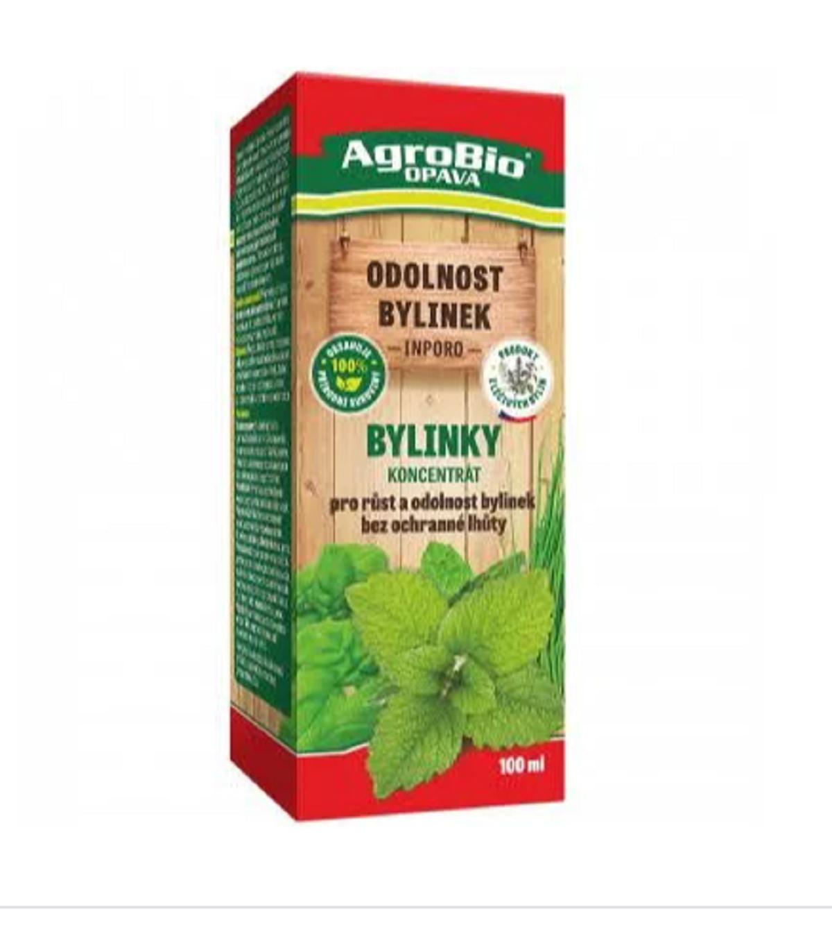 AgroBio Bylinky koncentrát - ochrana rastlín - 1 ks