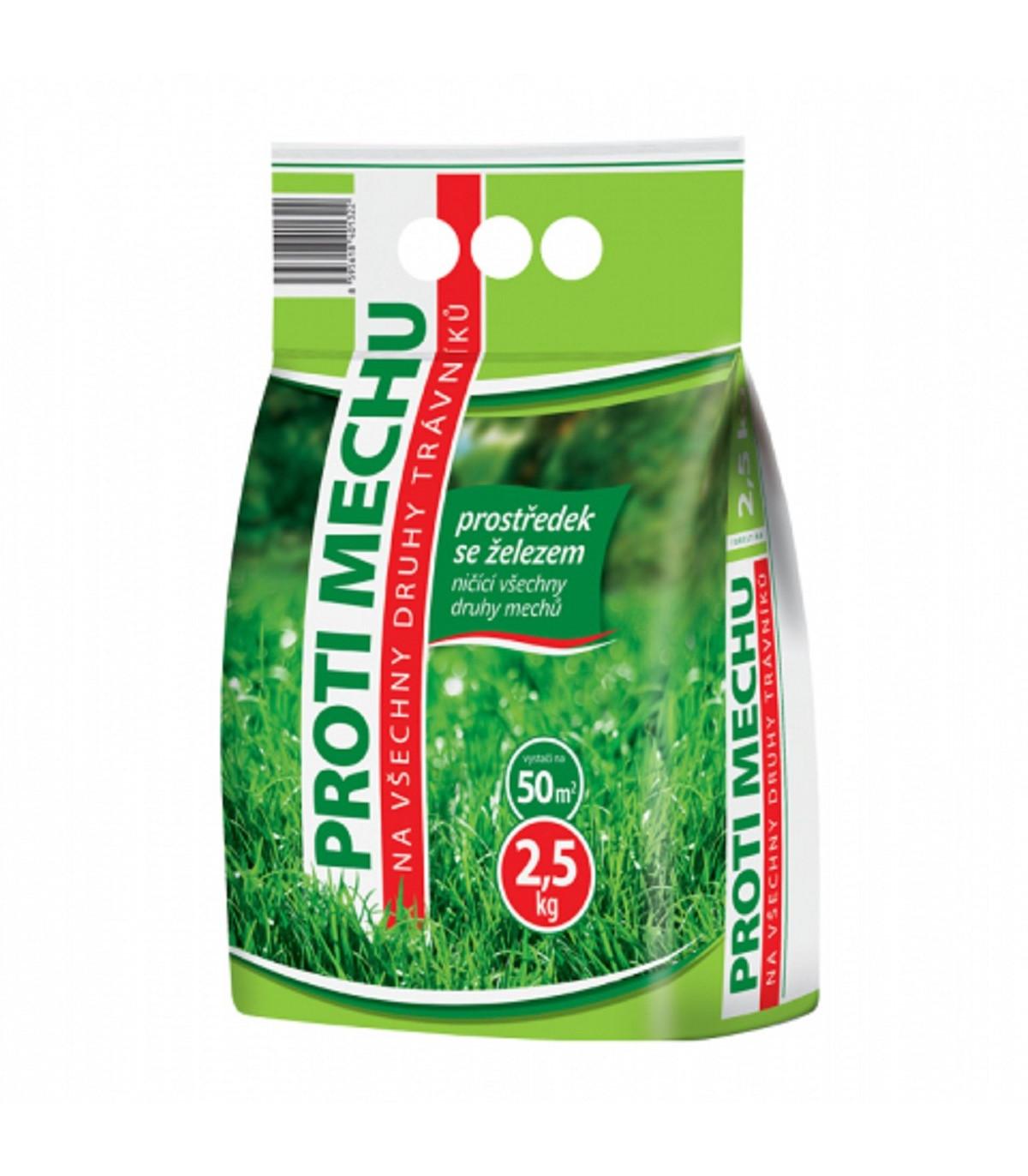Prípravok proti machu - Forestina - ochrana rastlín - 2,5 kg